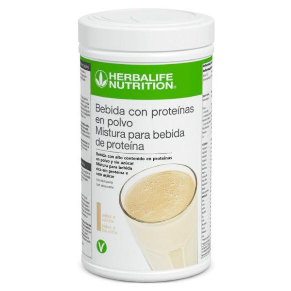 Bebida con proteinas en polvo